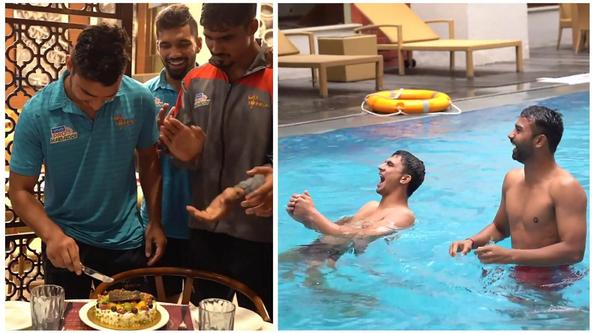 Birthday Celebrations, Recovery and ProKabaddi | UP Yoddha