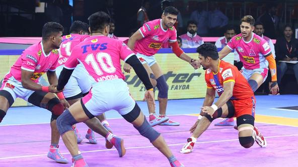 Match 9 | U.P. Yoddha vs Jaipur Pink Panthers | ProKabaddi 2019