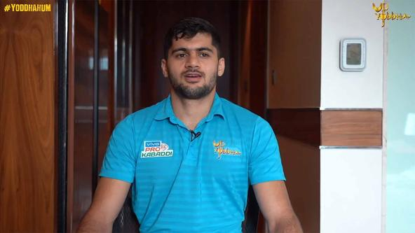 U.P. Yoddha Players Talk About Sport's Importance | ProKabaddi 2019