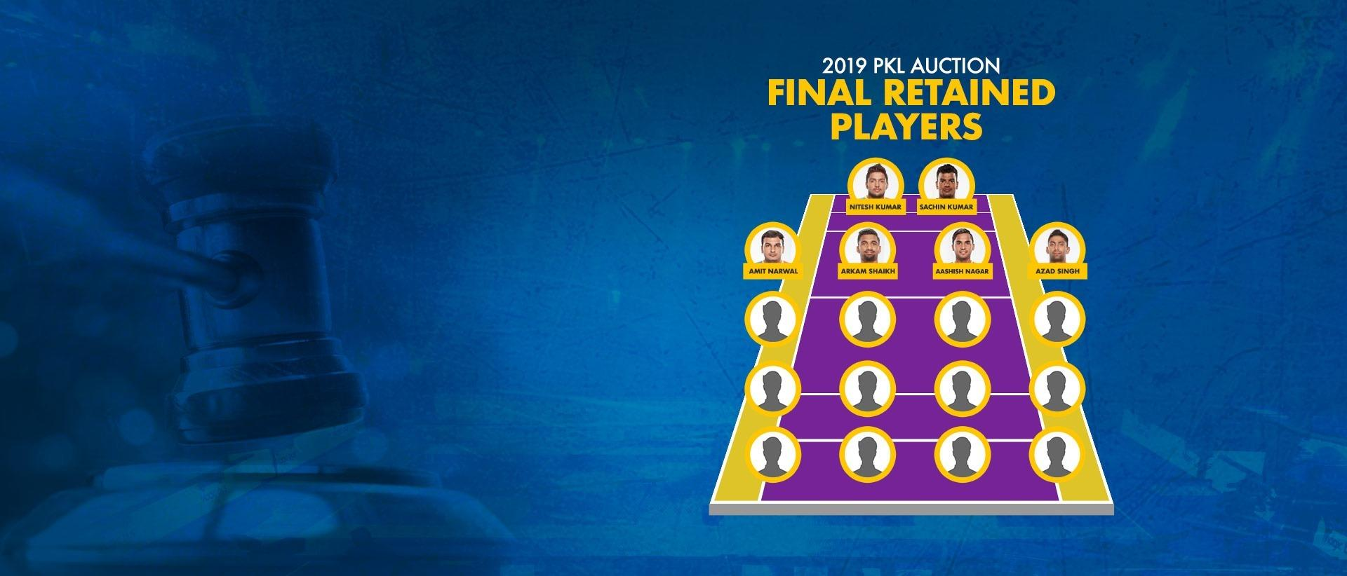 PKL Season 7 auction - A defining chapter