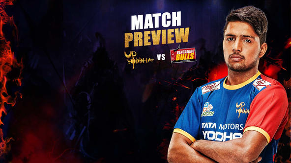 U.P. Yoddha aim for third win over Bulls to enter ProKabaddi 2019 semi-final