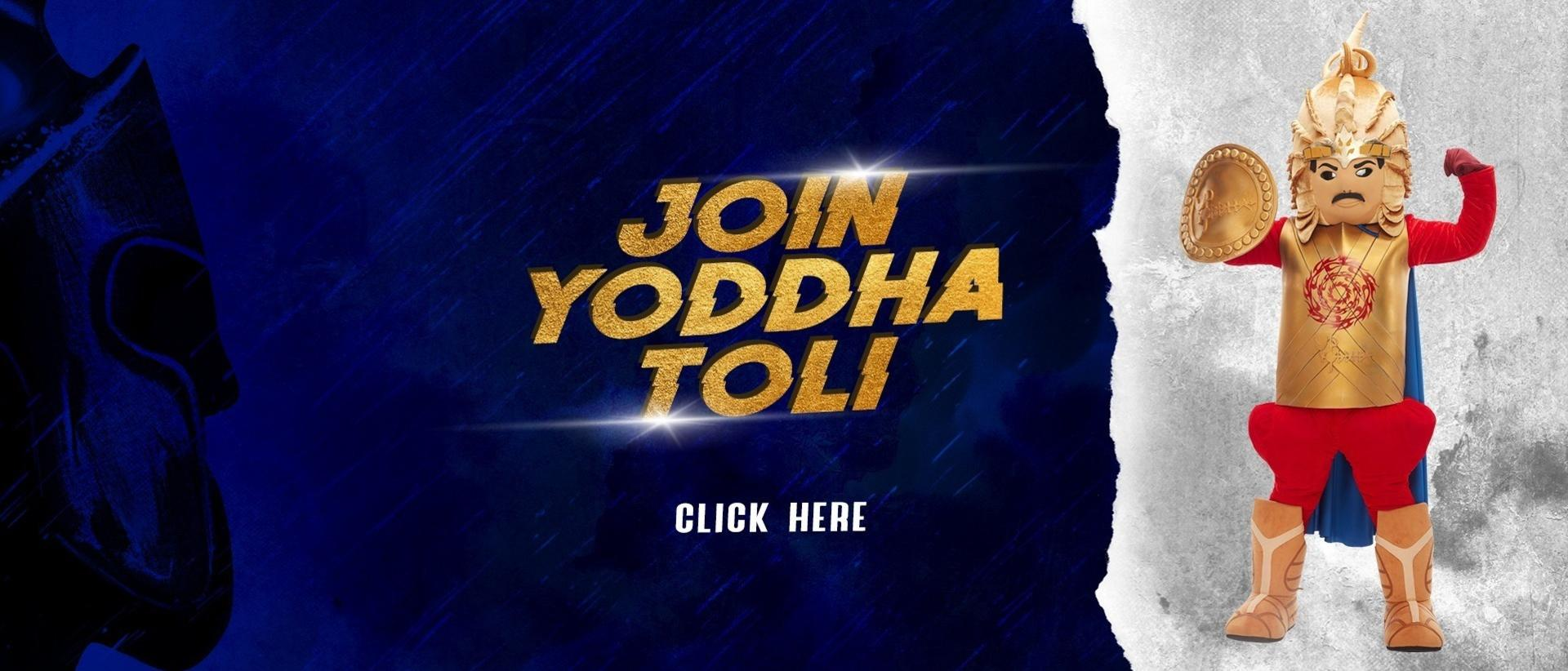 Join the Yoddha Toli