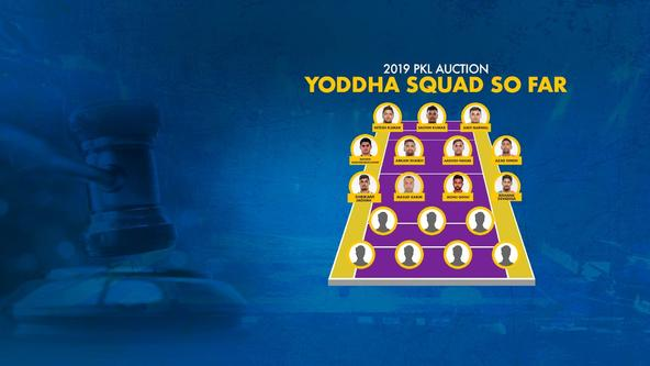 VIVO ProKabaddi Auction Day 1: Yoddha strike big with top-quality signings!
